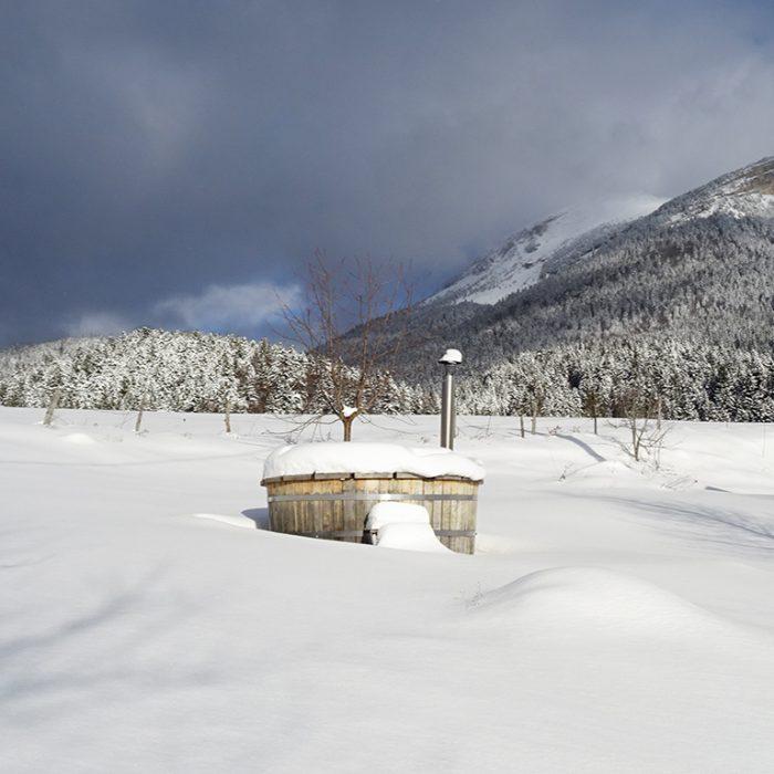 Le bain nordique sur réservation