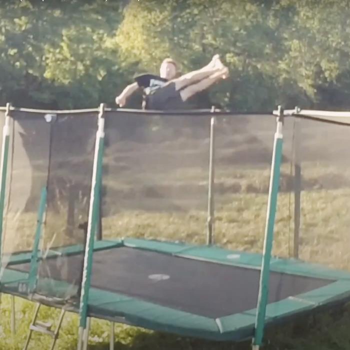 Le trampoline en libre service